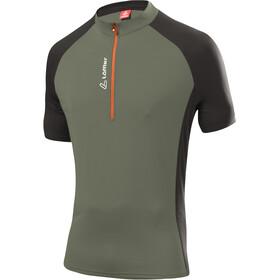 Löffler Rocky Bike Shirt Half-Zip Herren olive